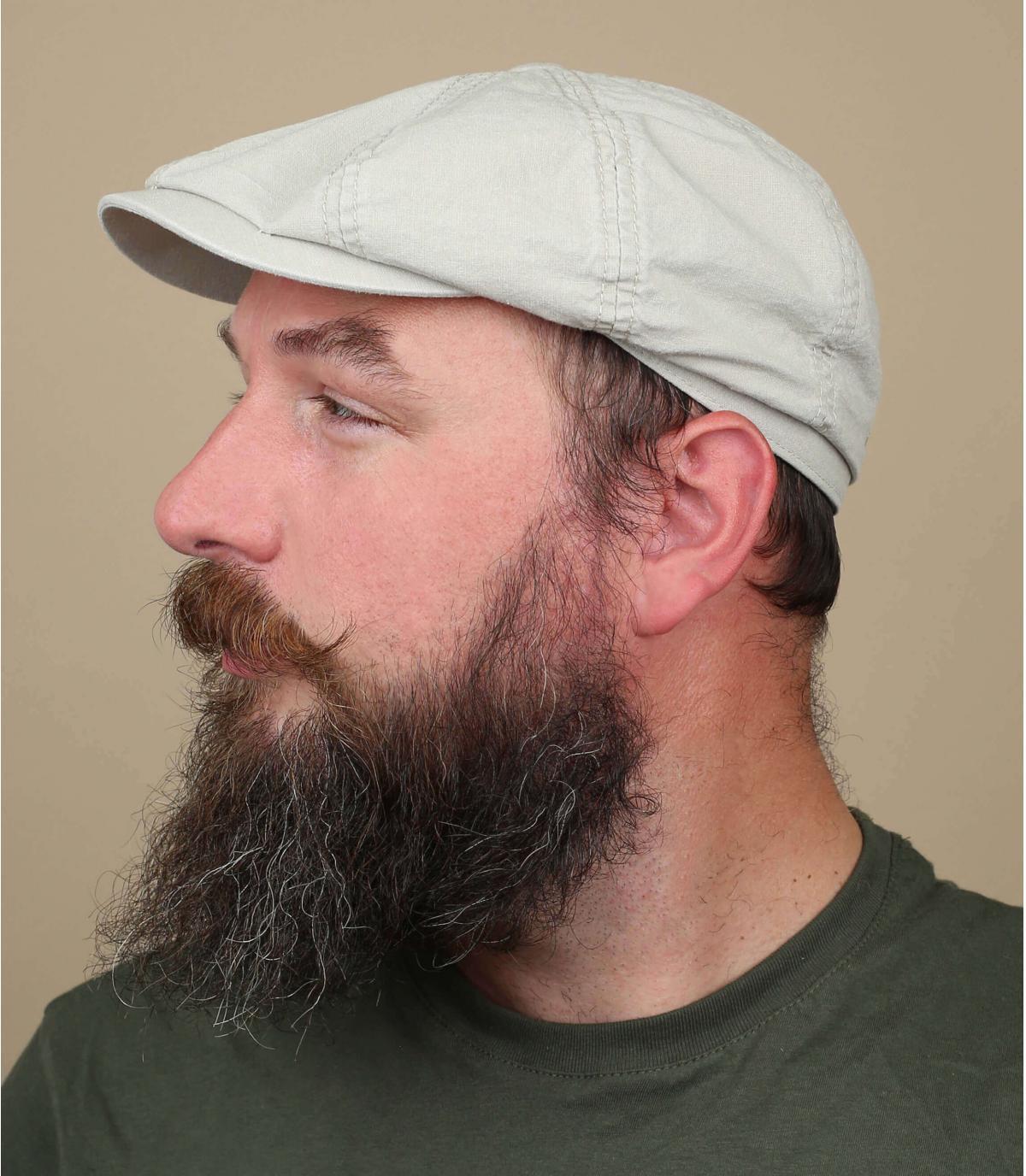 Cappellino Hatteras cotone bio