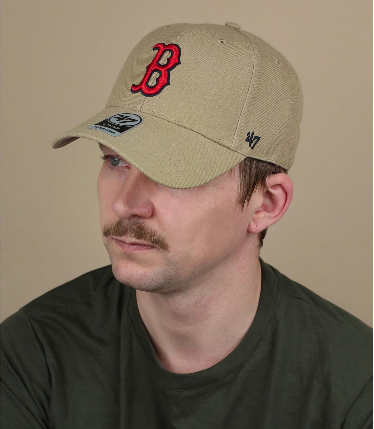 cappello beige B