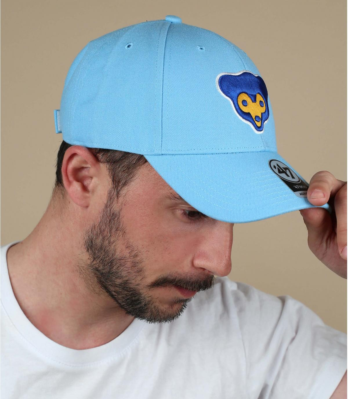 Cappellino Cubs blu