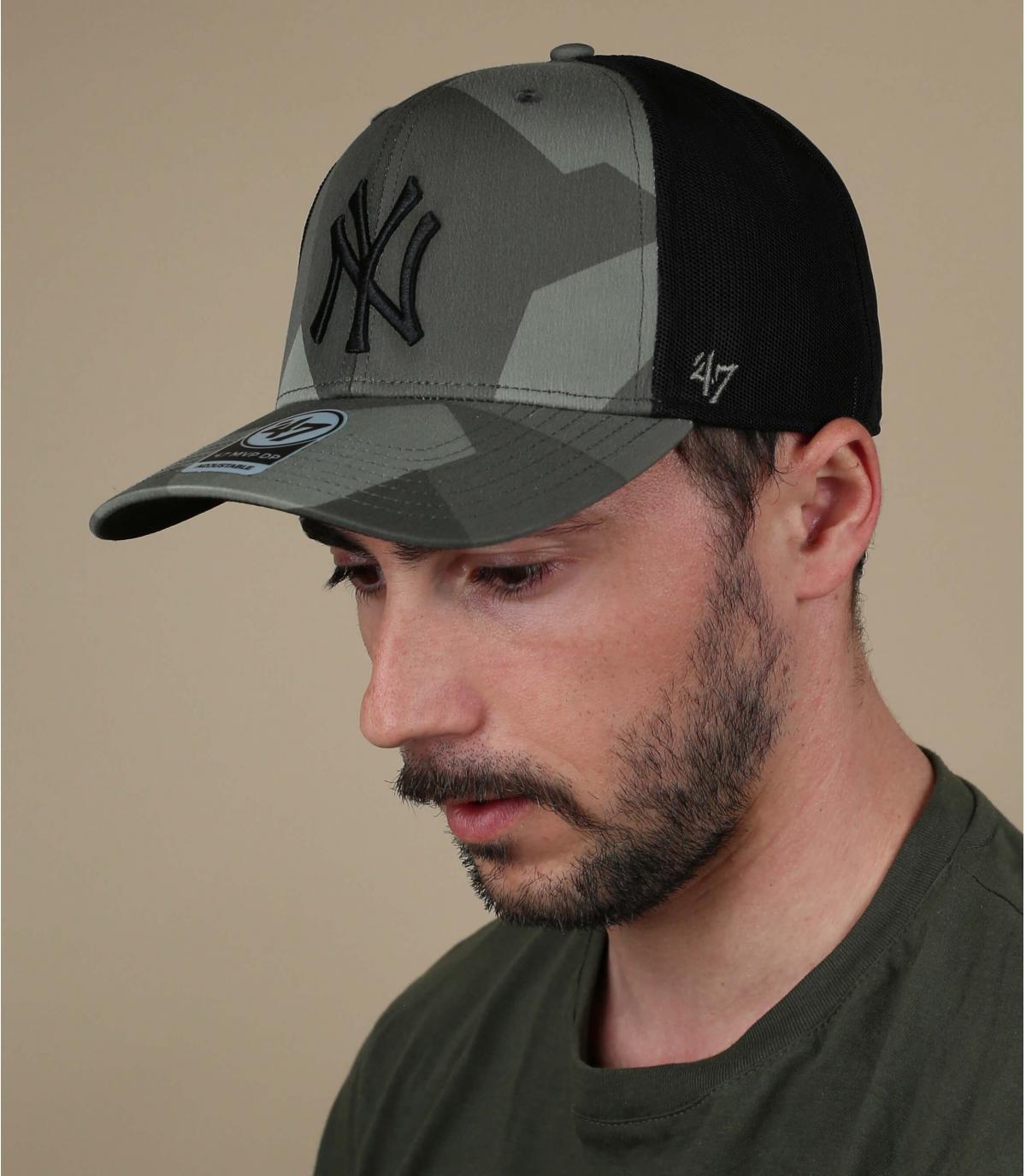 Cappellino mimetico NY