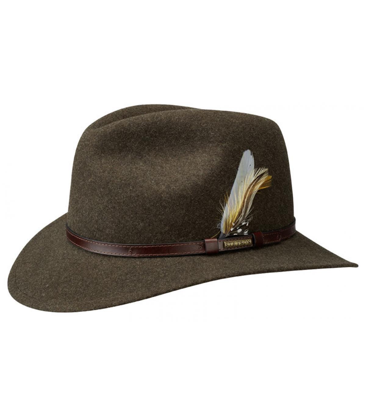 Cappello feutre marrone Stetson