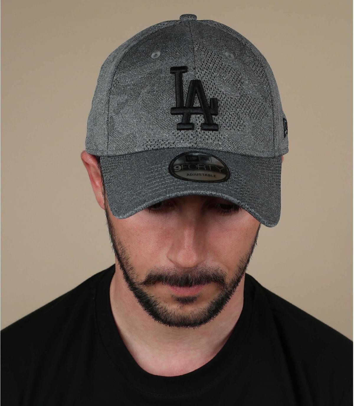 Cappellino grigio LA