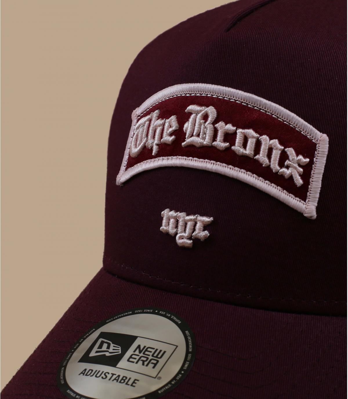 Dettagli Trucker Borough Bronx burgundy - image 2