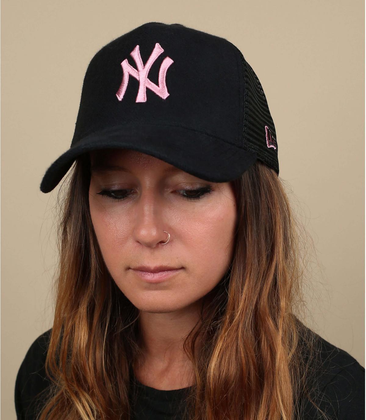 NY trucker nero rosa