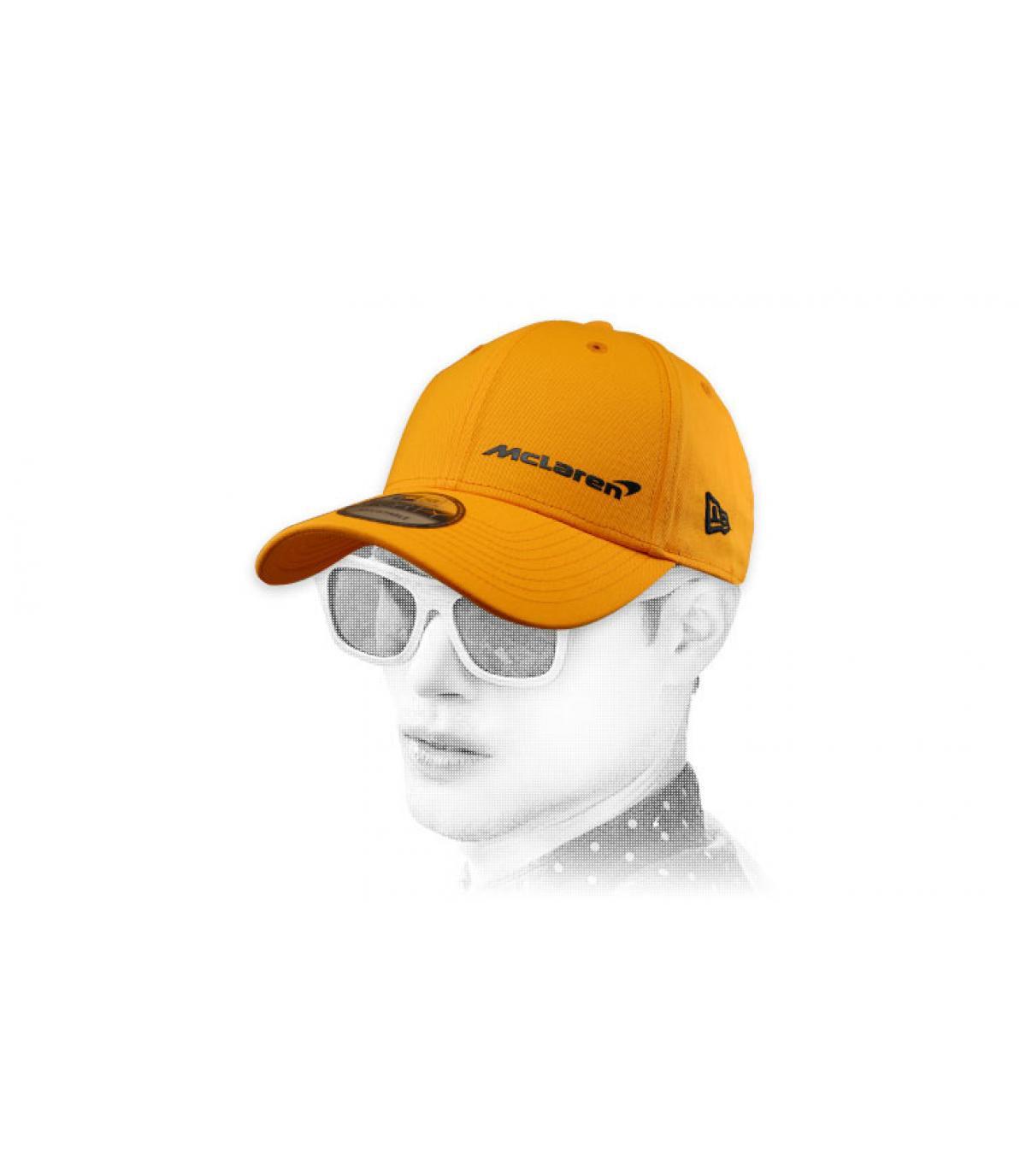 Cappellino McLaren giallo