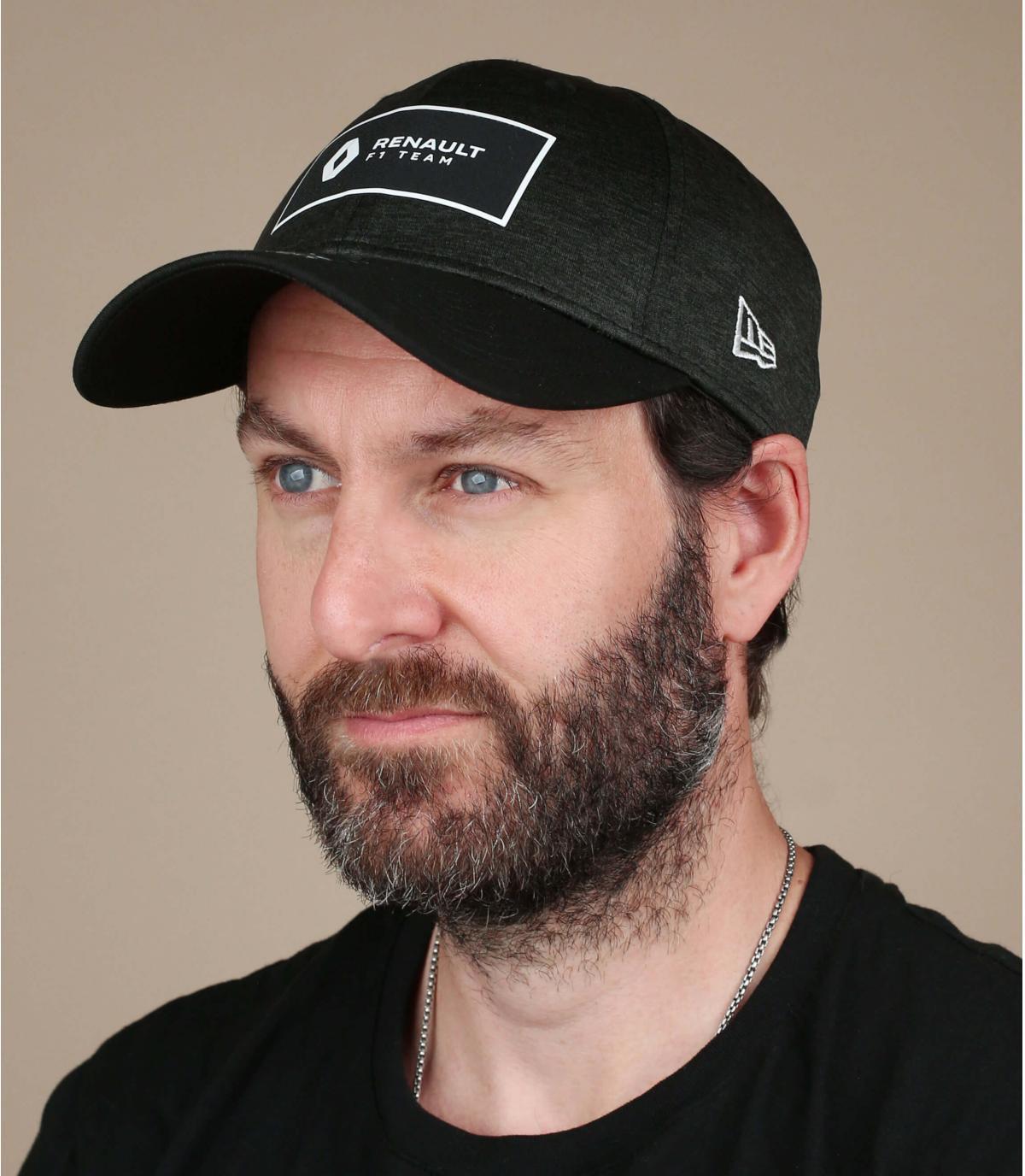 cappellino Renault nero