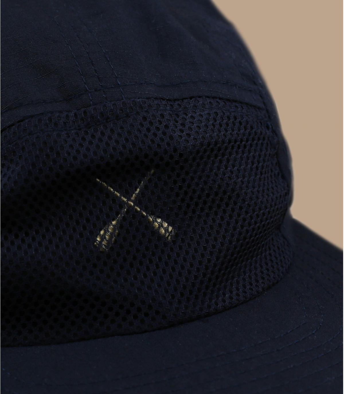 Cappellino 5 pannelli blu navy