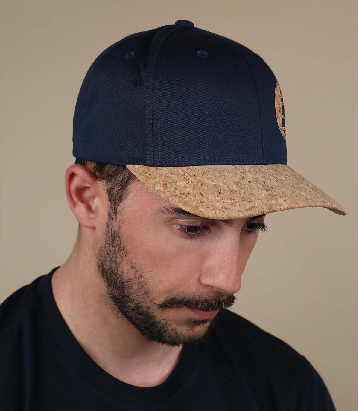 Cappellino blu