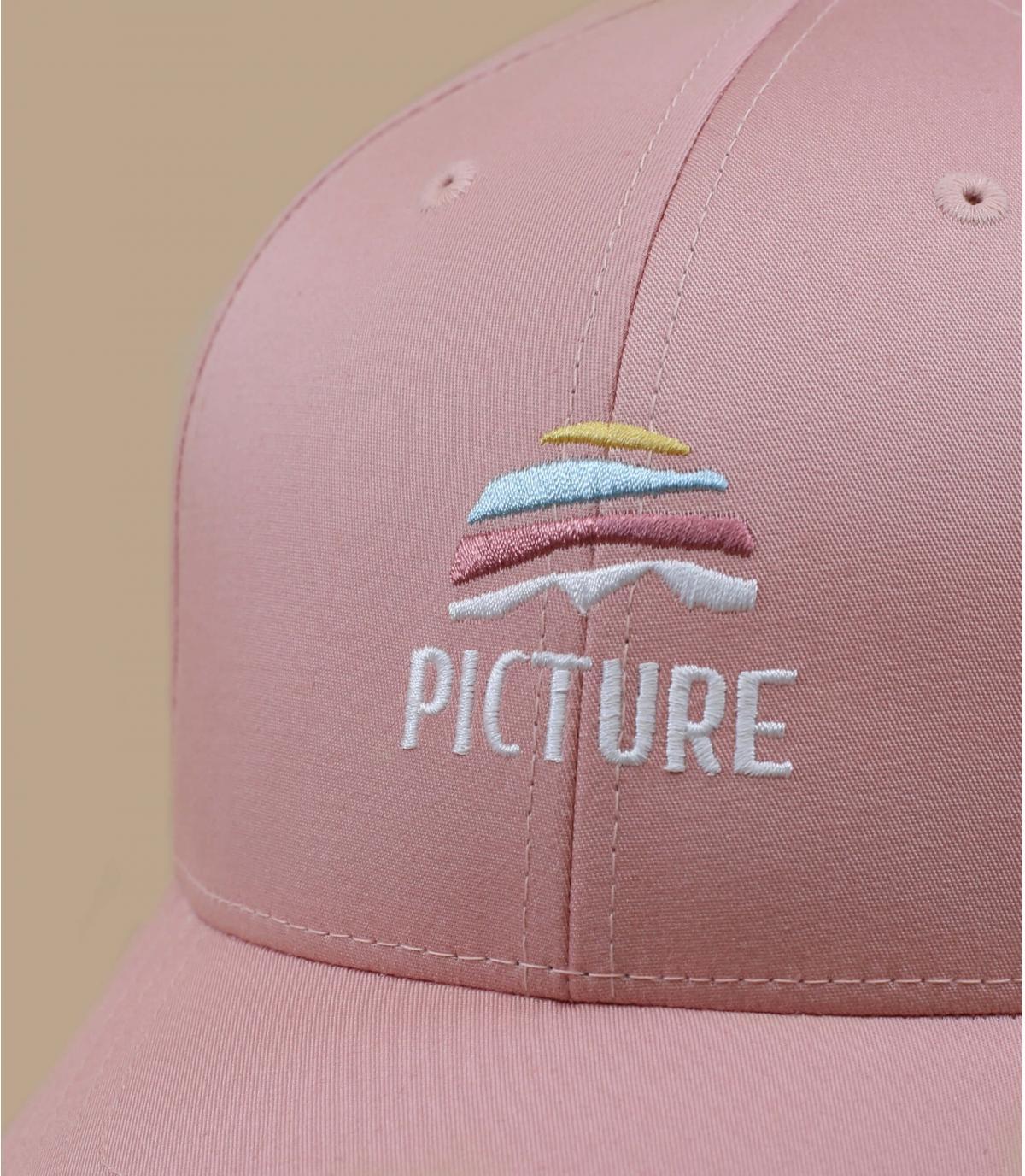Cappellino Picture rosa