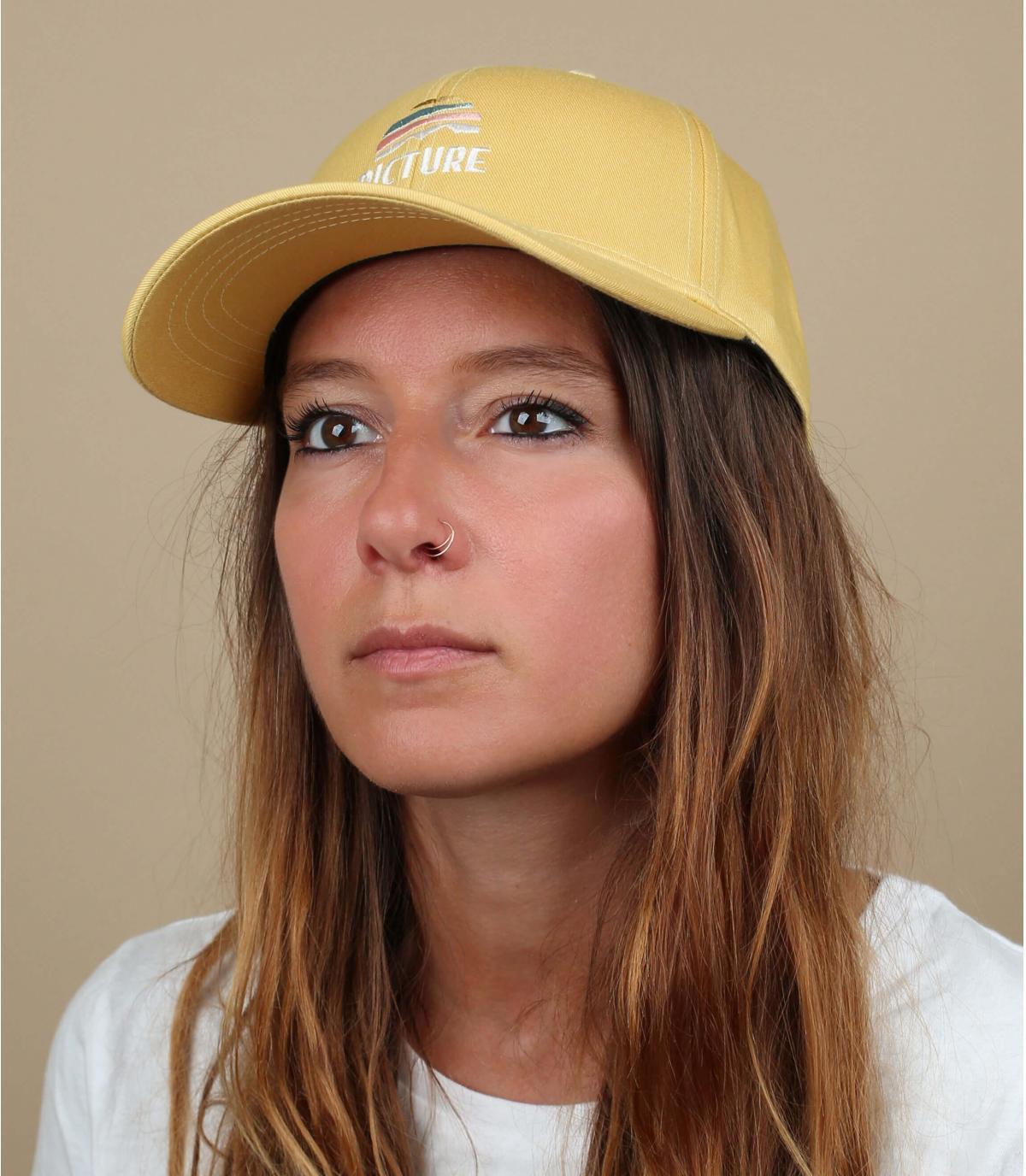Cappellino giallo