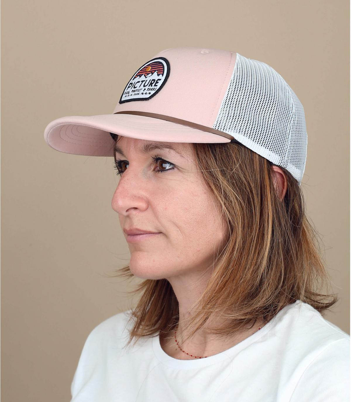 trucker rosa Immagine