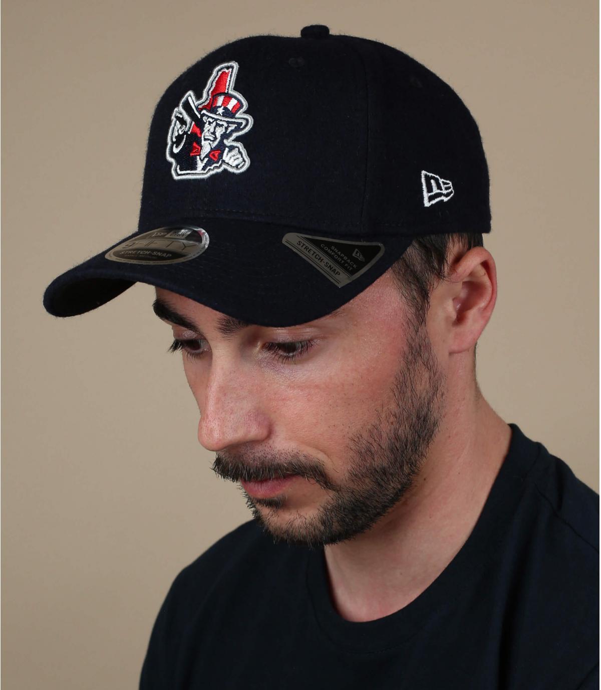 cappello da pescatore nero