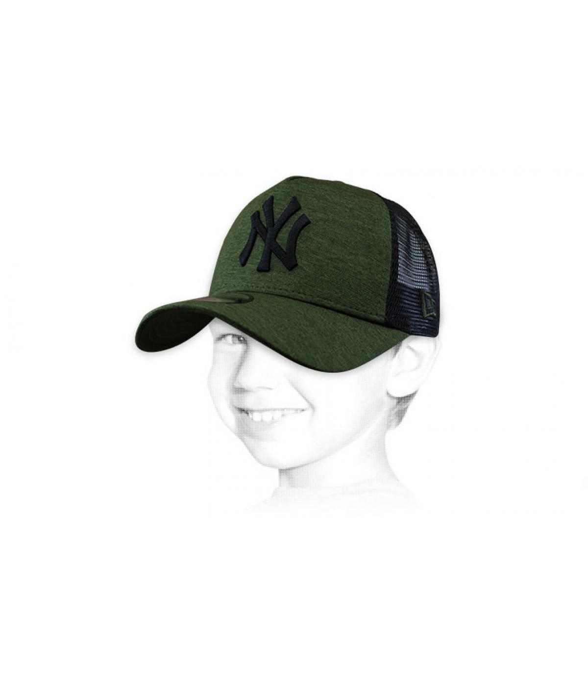 trucker bambino verde NY