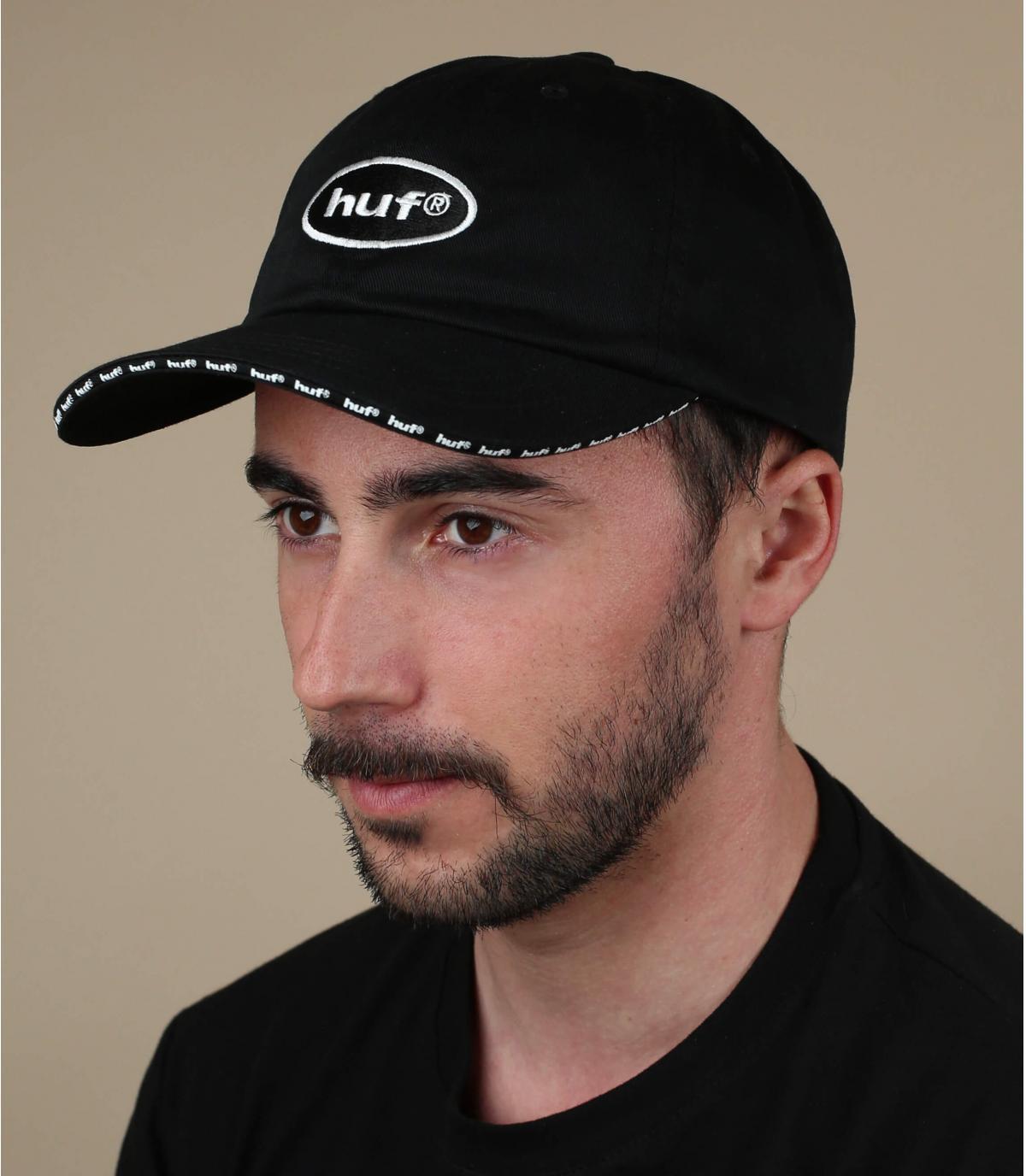Cappellino Huf nero