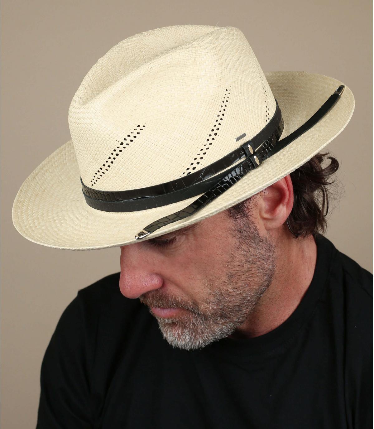 cappello di paglia panama Bailey