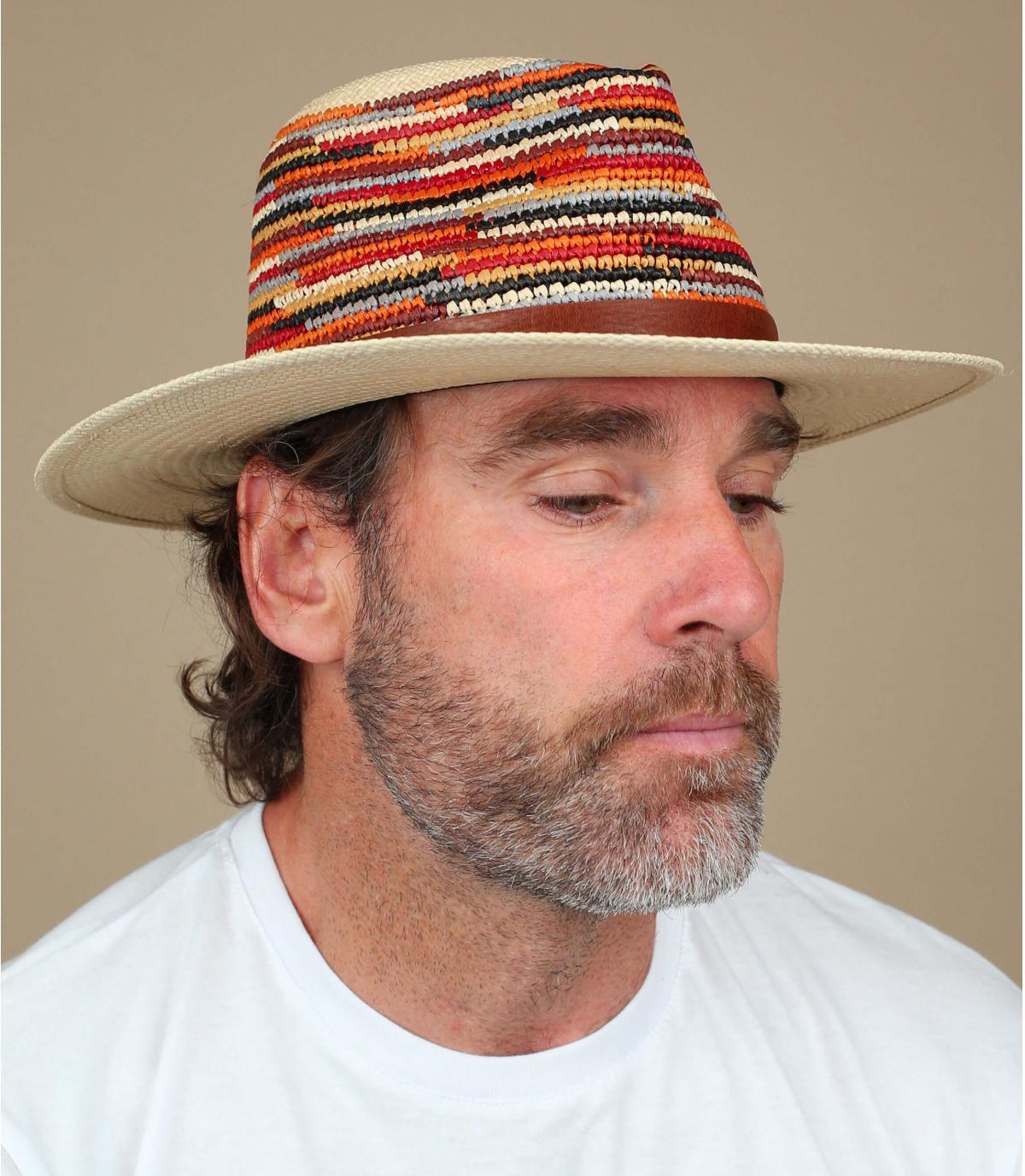 cappello di paglia multicolore Bailey