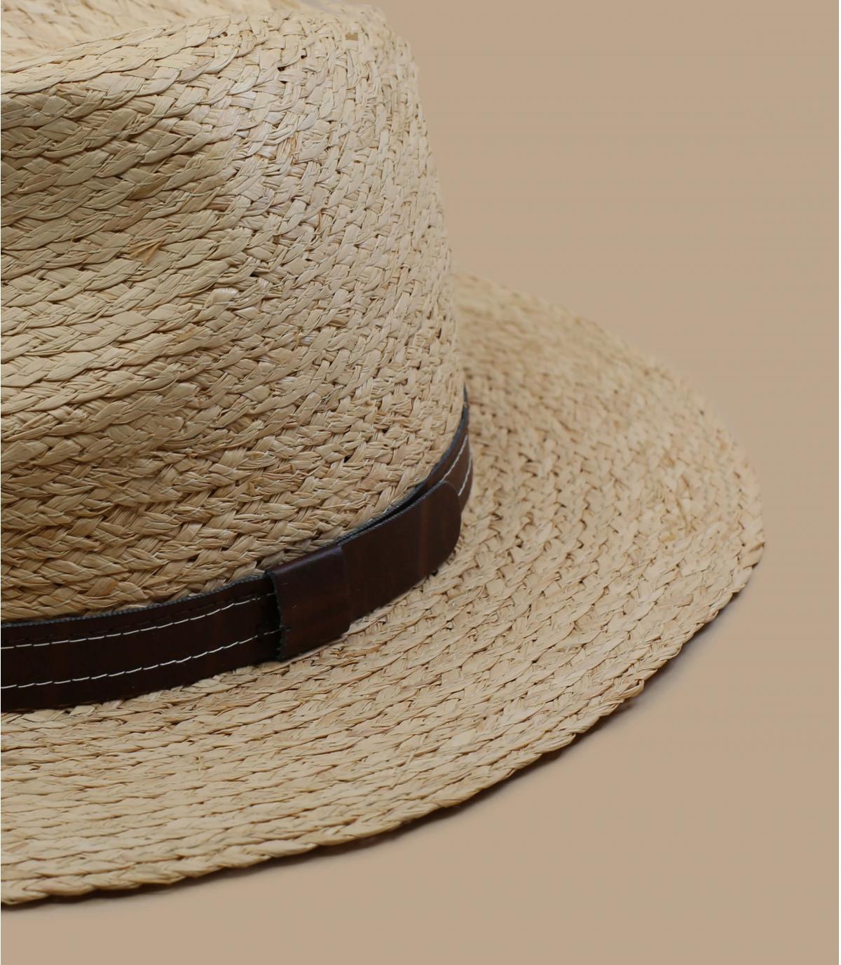 cappello di paglia pieghevole