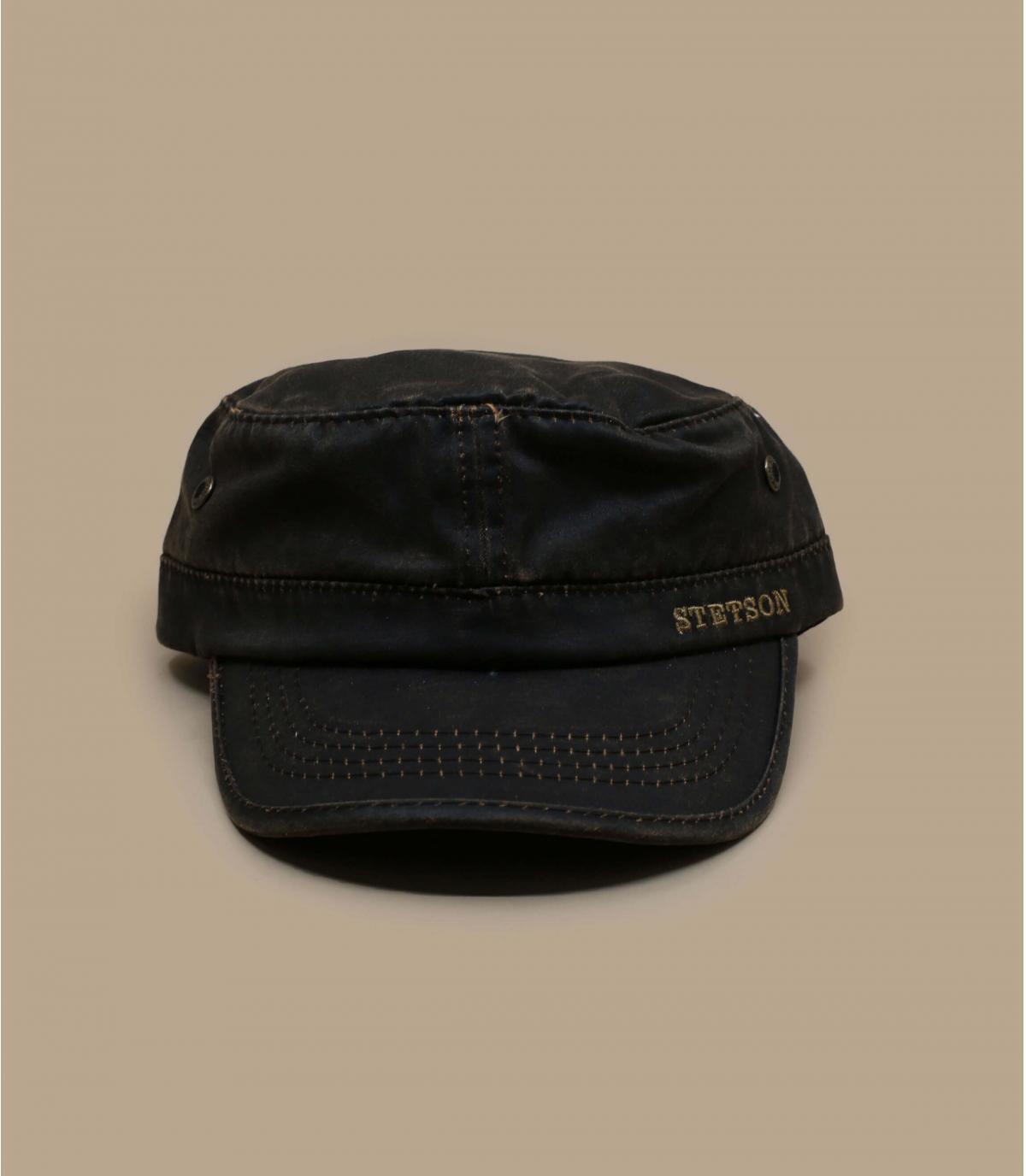 Cappellino Army marrone