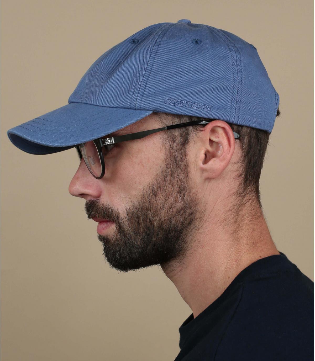 Casquette rector bleu