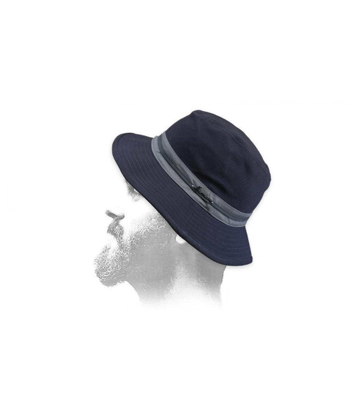 bob di cotone grigio