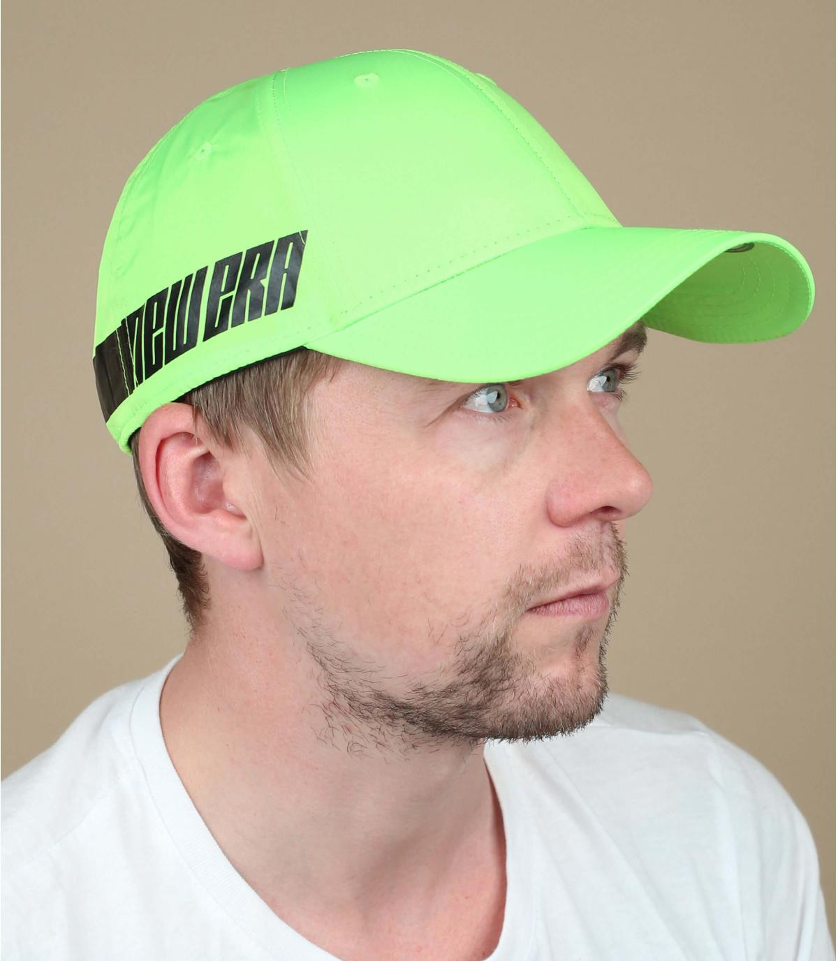 Cappellino verde neon New Era
