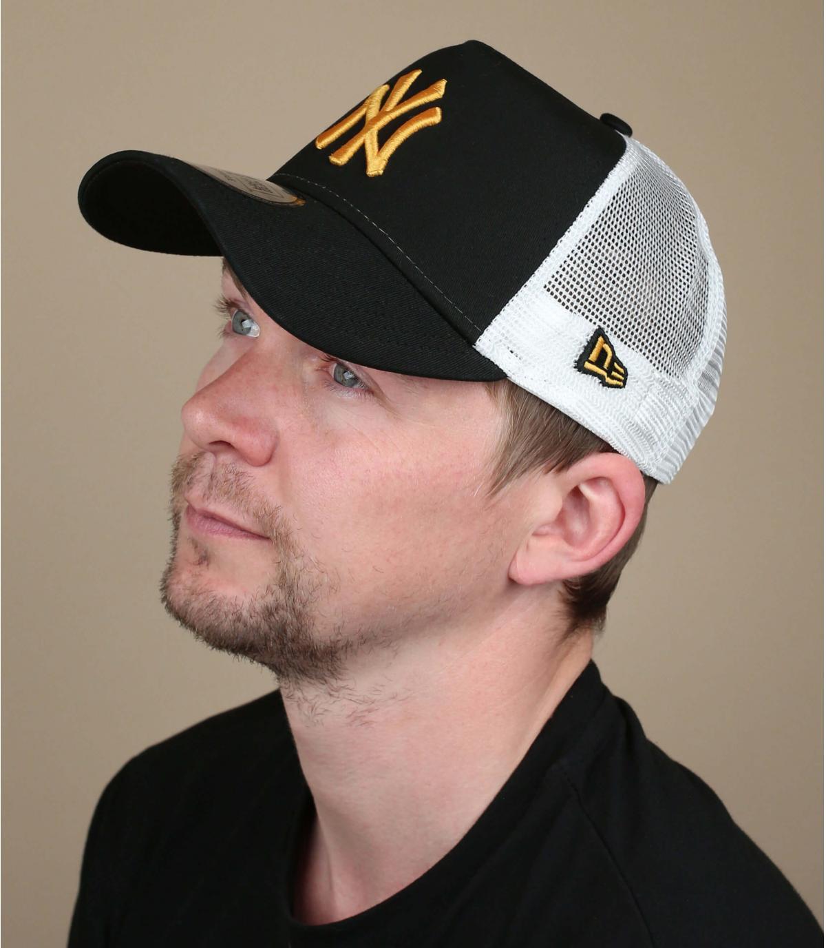trucker NY nero giallo