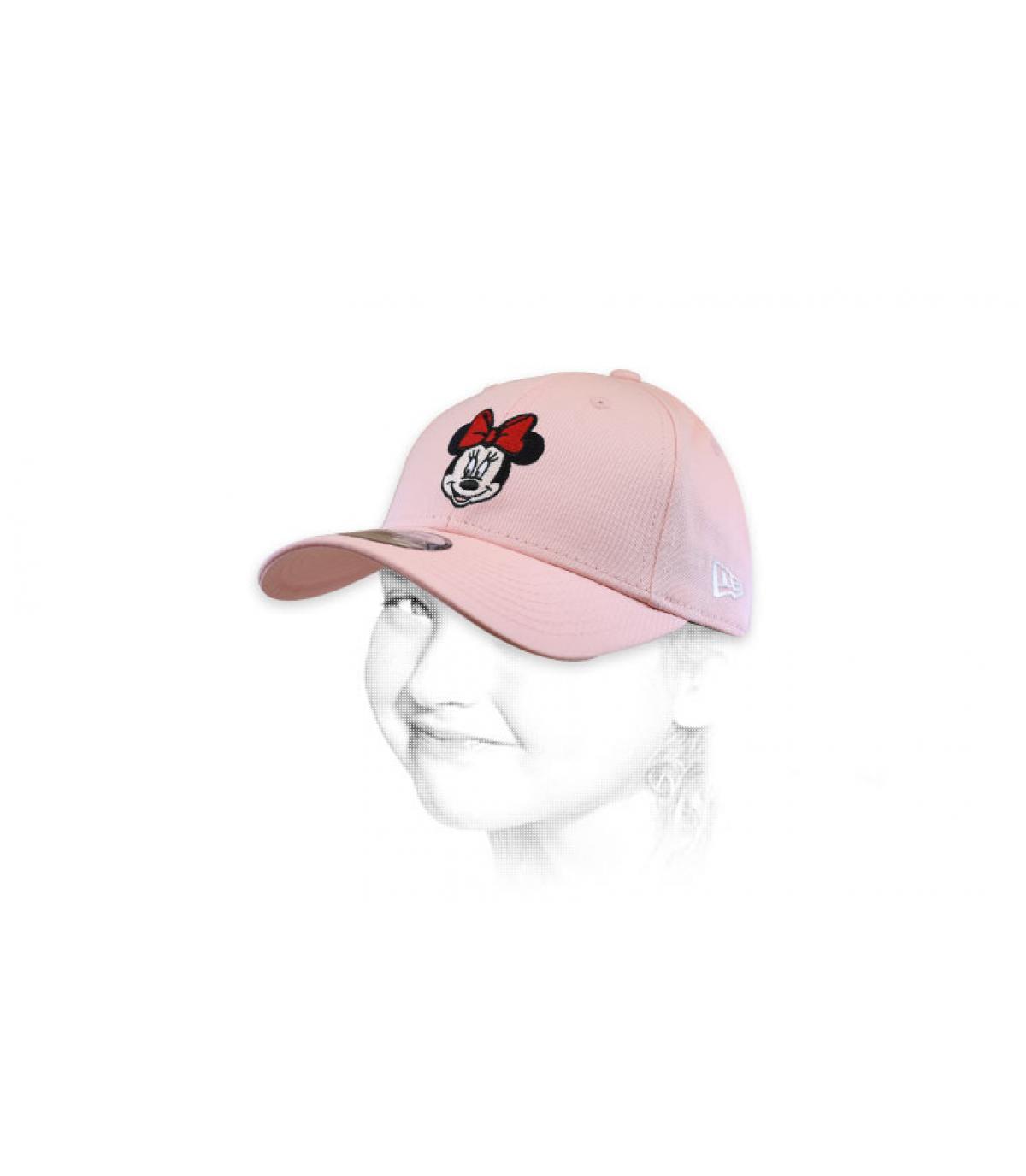 Cappellino Minnie rosa