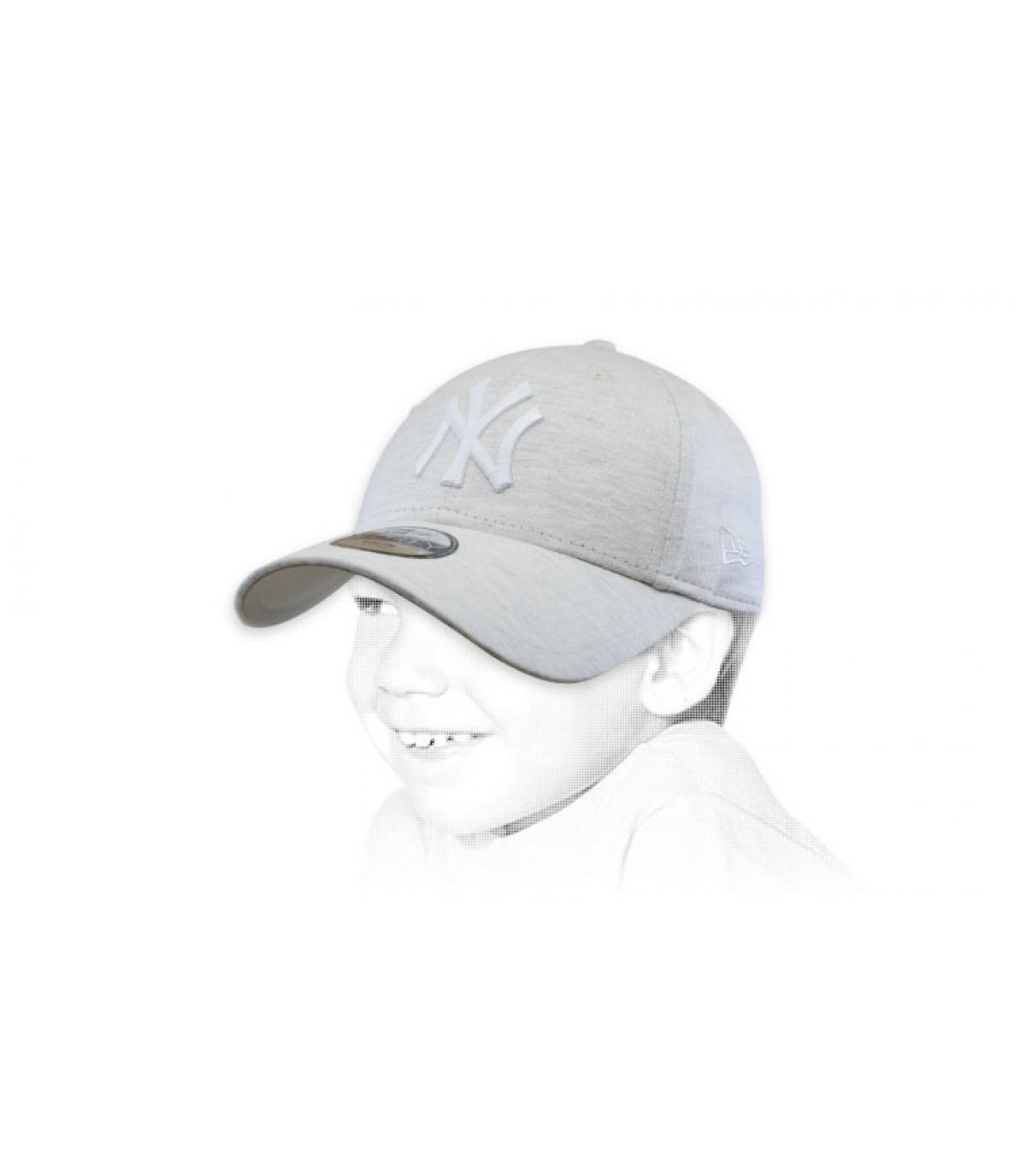 cappellino per bambini beige NY