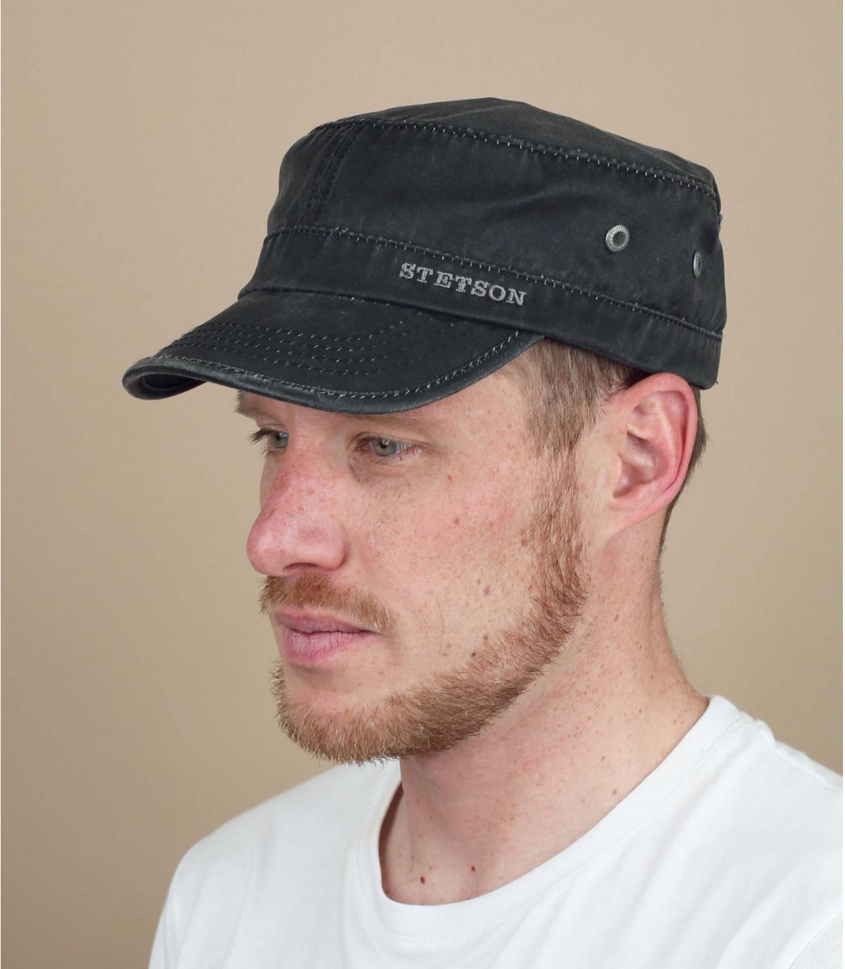 Cappellino Stetson nero