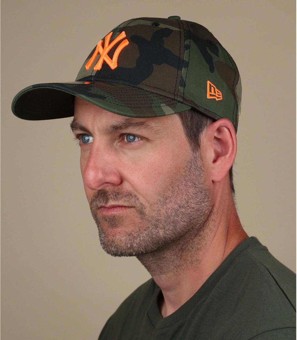 Cappellino camo NY