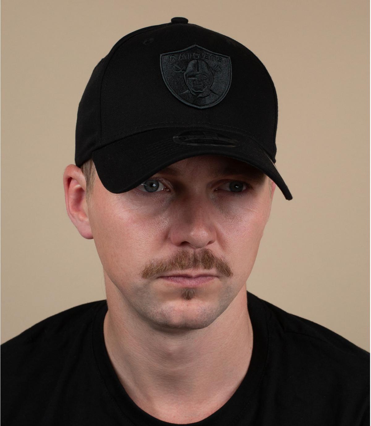 Cappellino Raiders nero