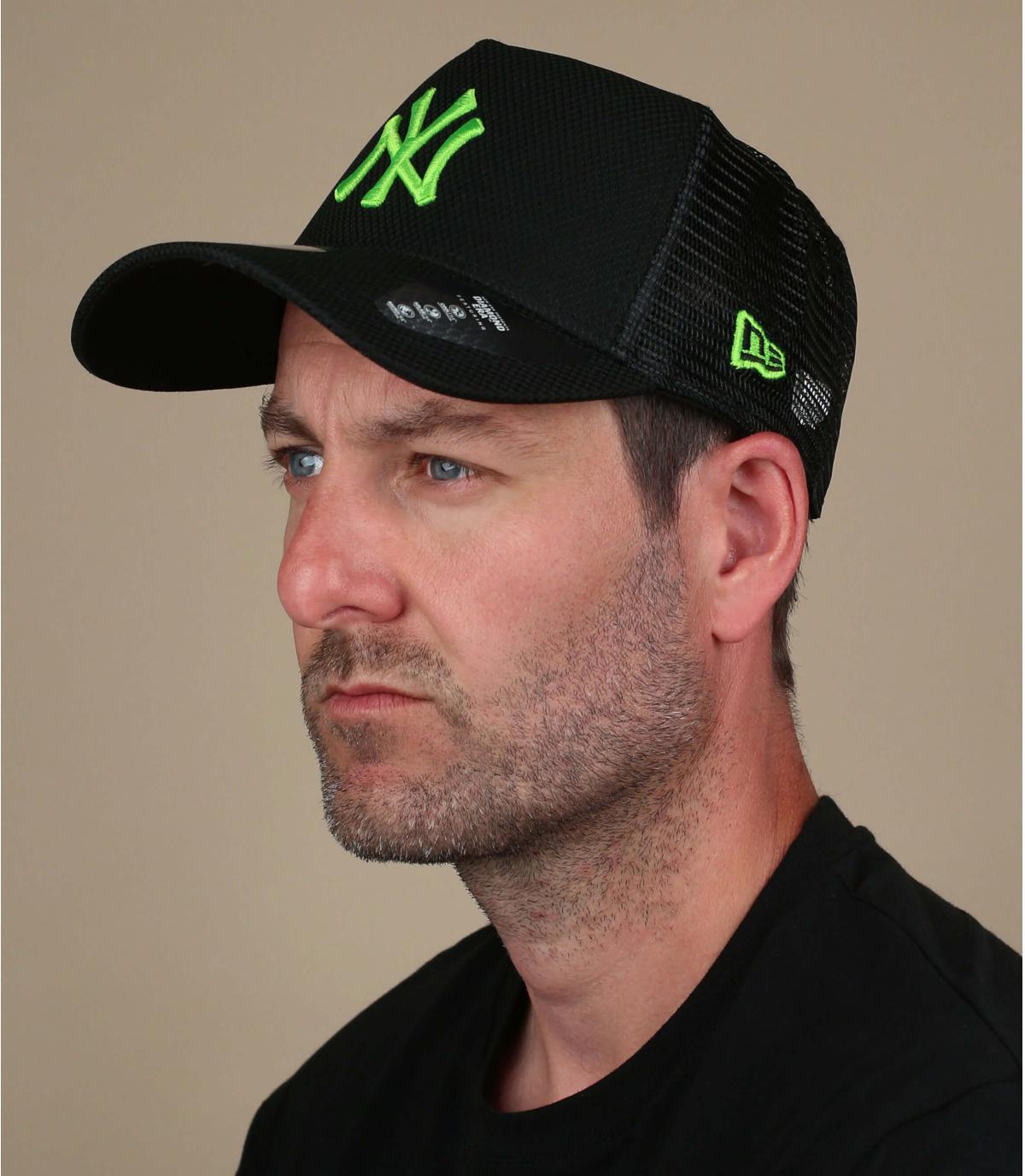 trucker NY verde nero