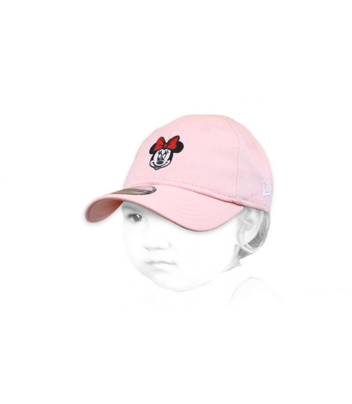 Cappellino rosa Minnie