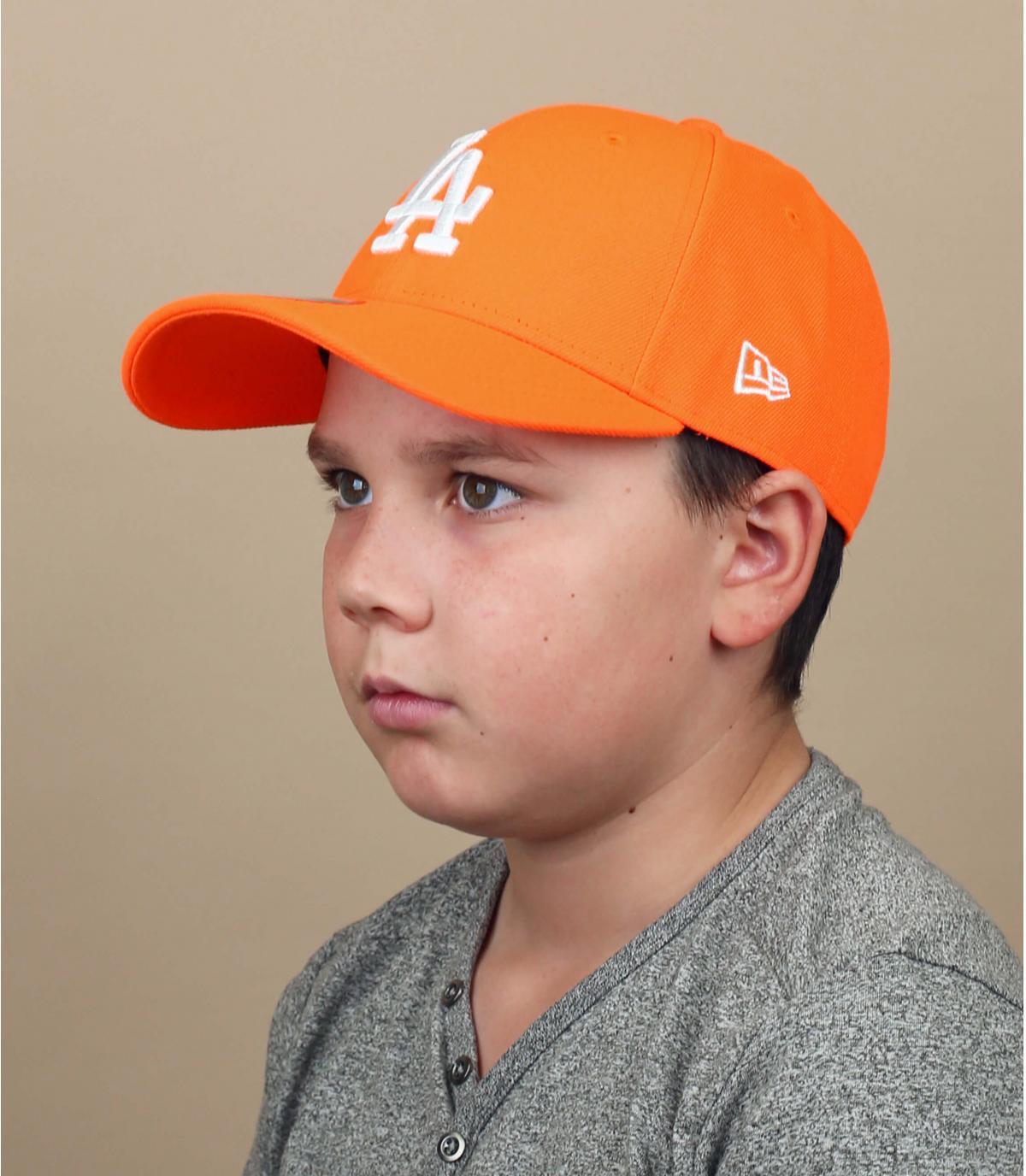 Cappellino per bambini LA arancione