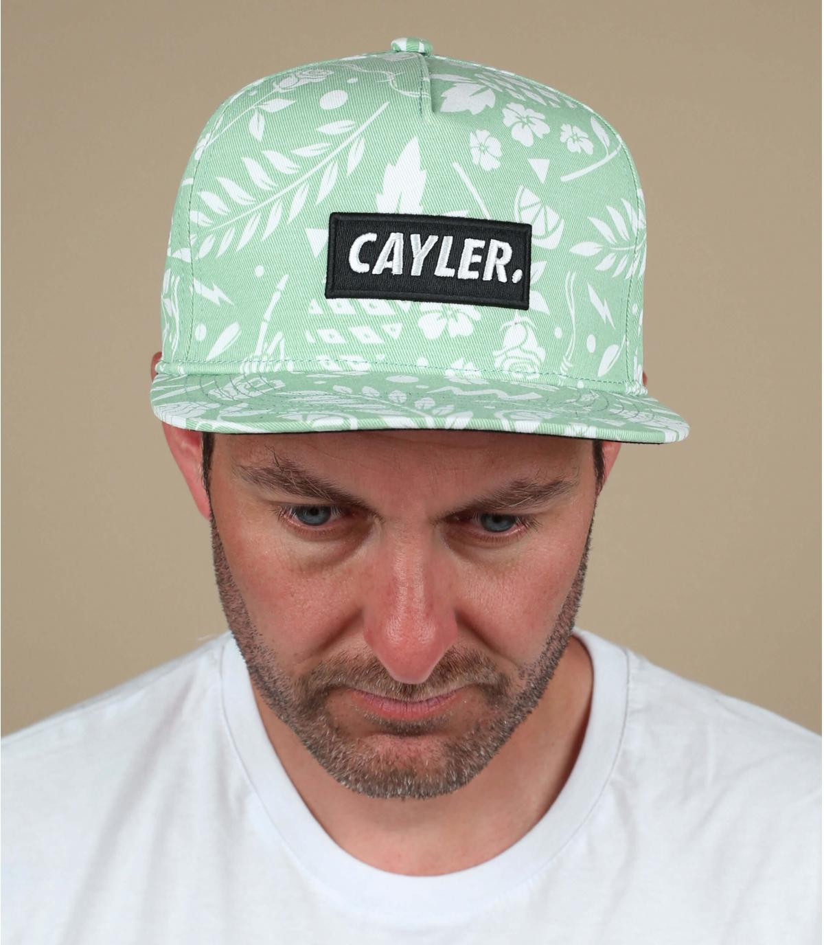 Cappellino con stampa Cayler