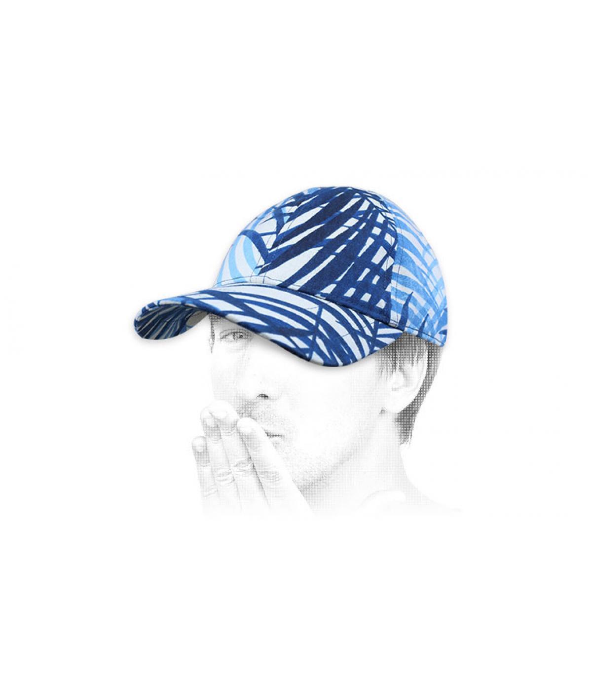 cappellino Chapoté bianco blu