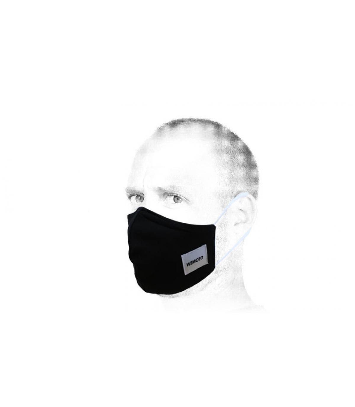 Maschera nera di Wemoto