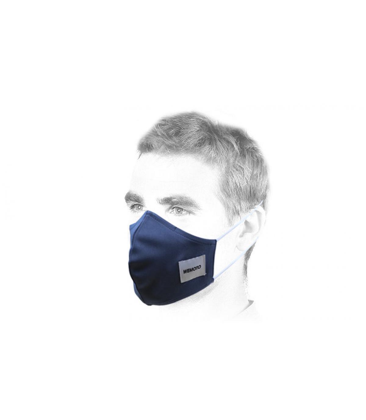 Maschera blu di Wemoto