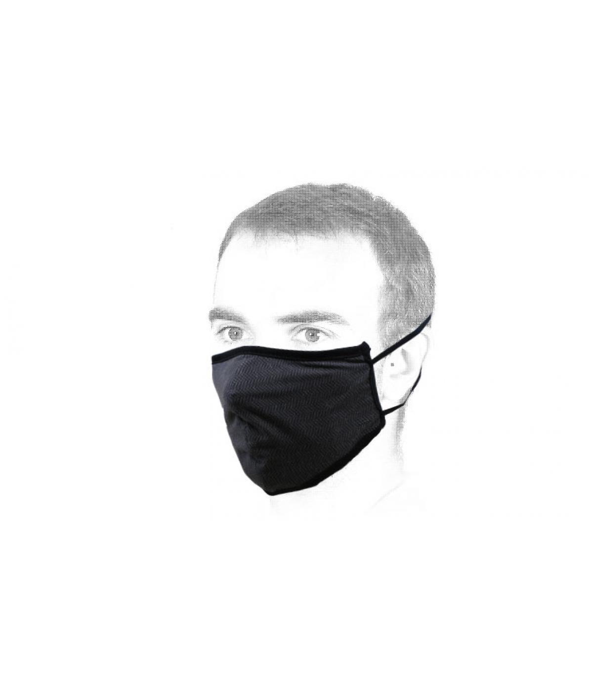 maschera nera Brixton