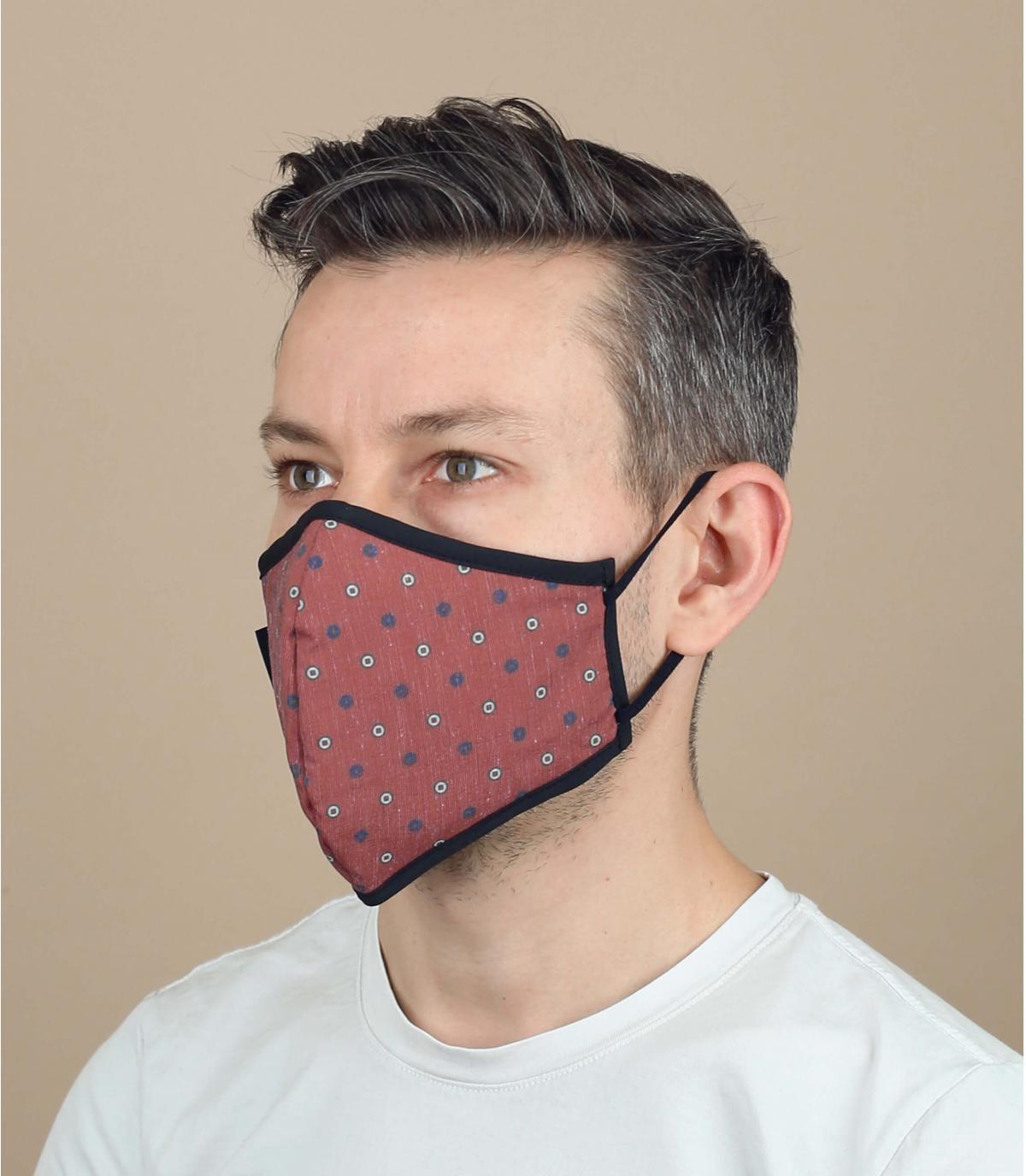 maschera di piselli coronavirus