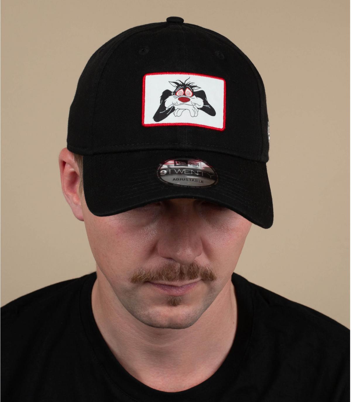 Cappellino nero Sylvester