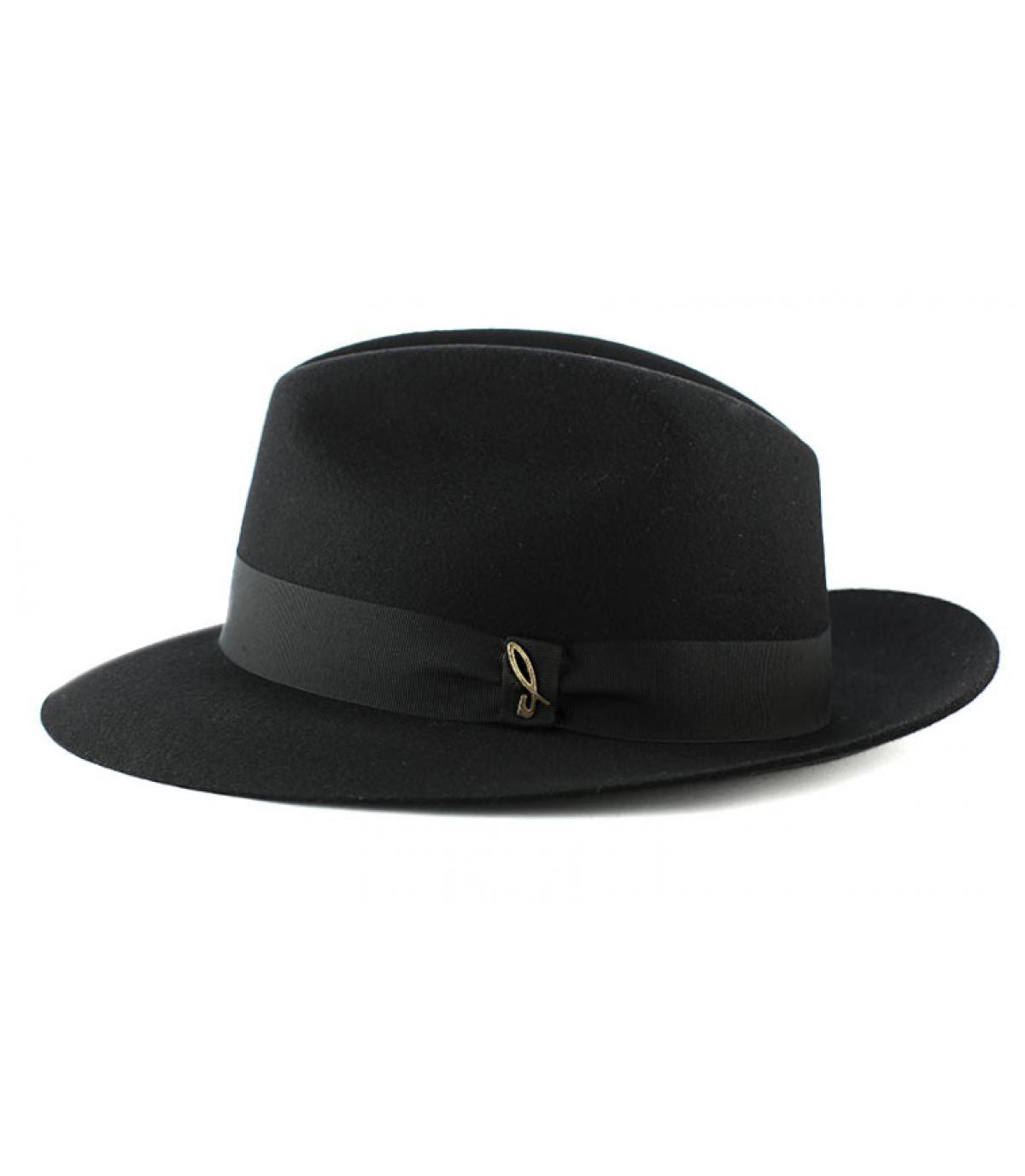 Cappello feutre Doria nero