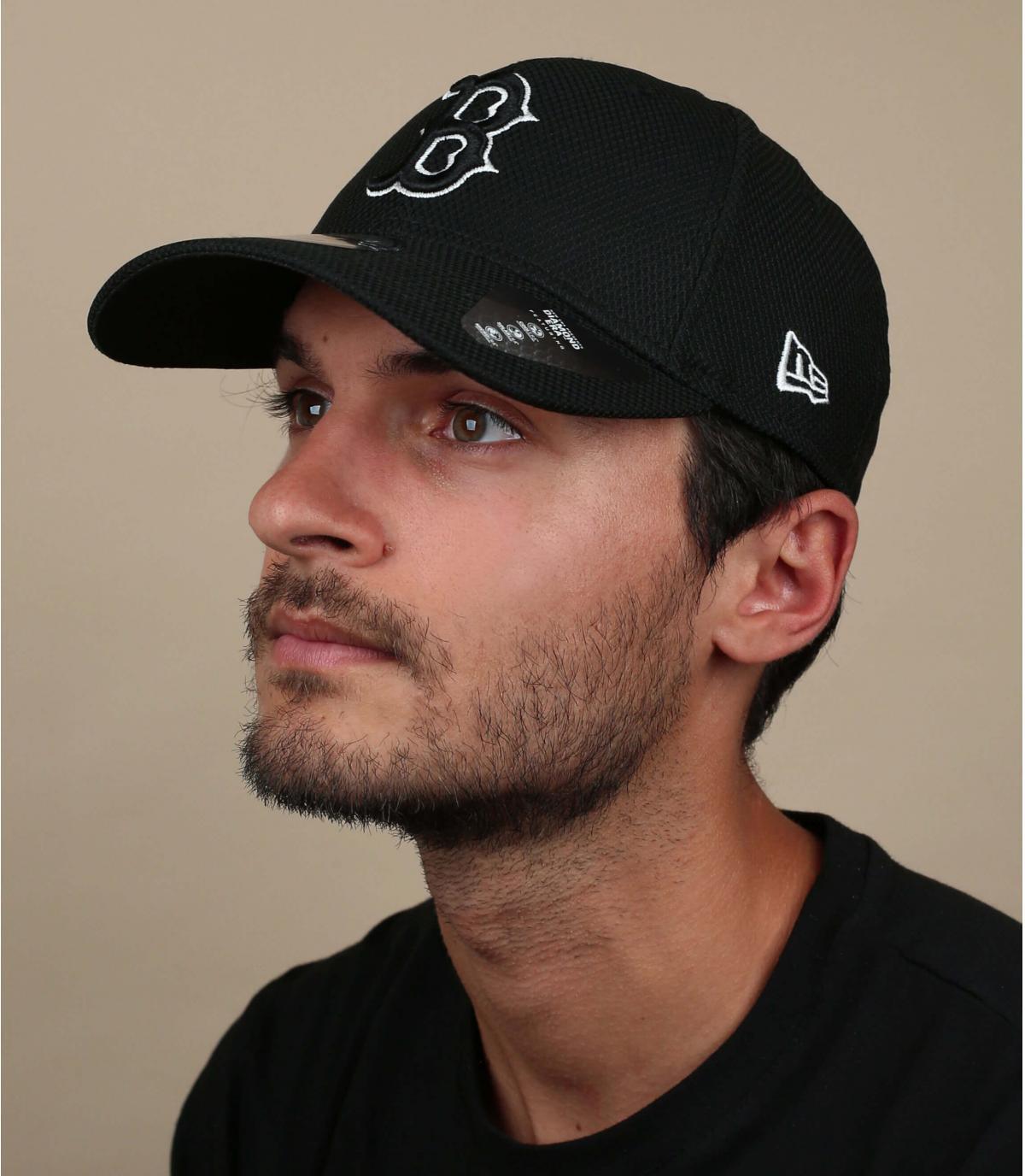 Cappellino B nero