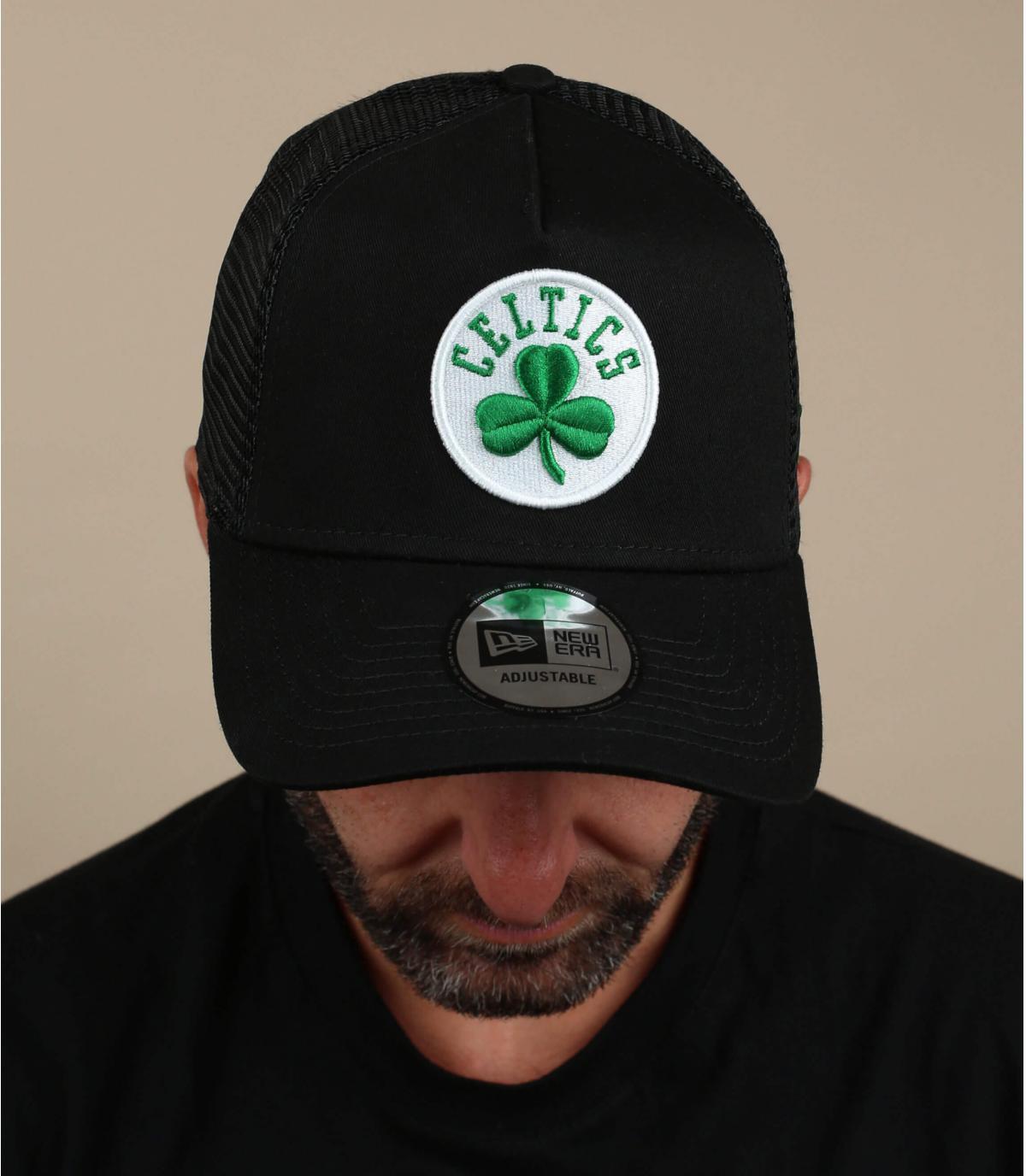 trucker Celtics nero