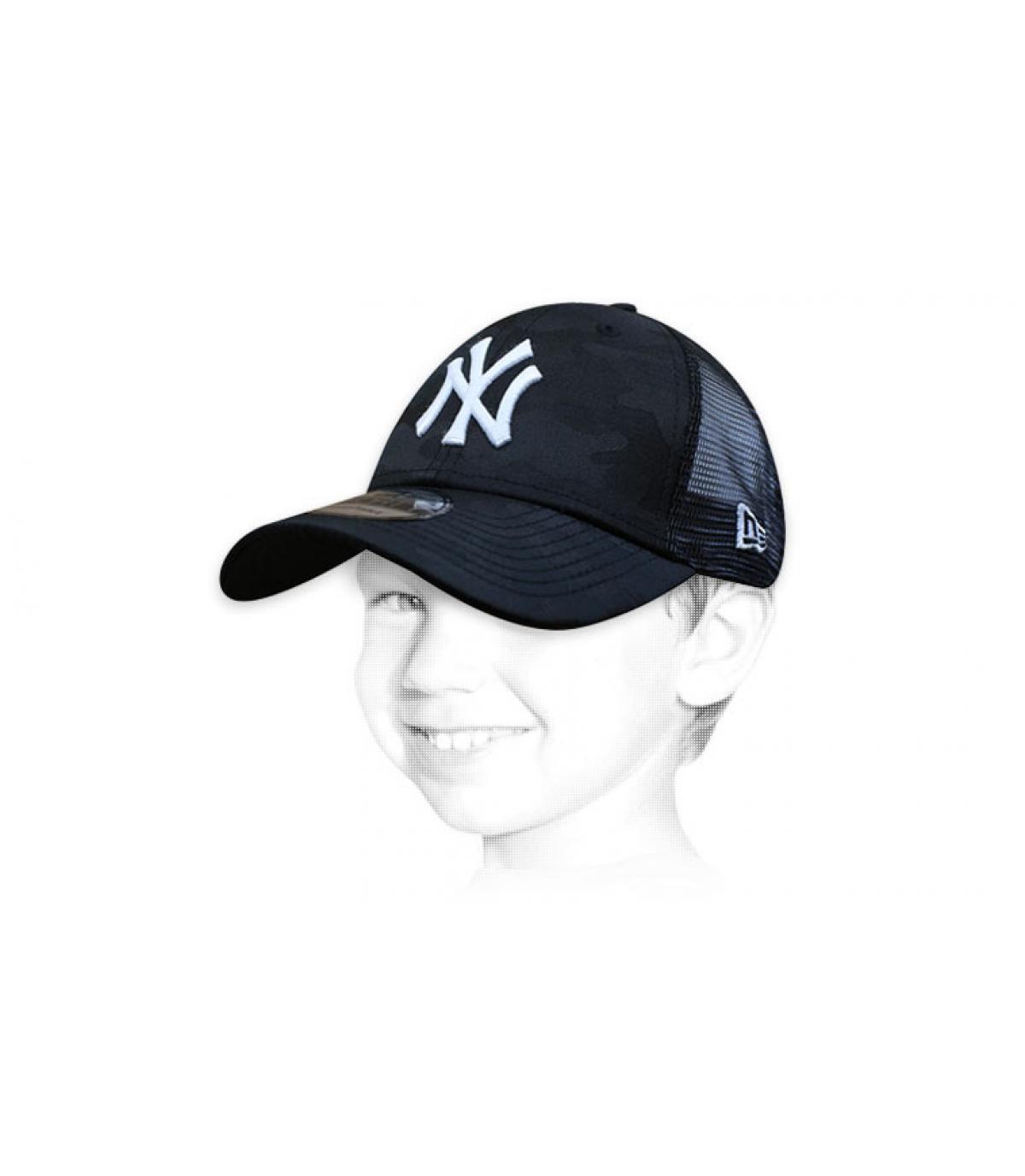 trucker bambino nero NY