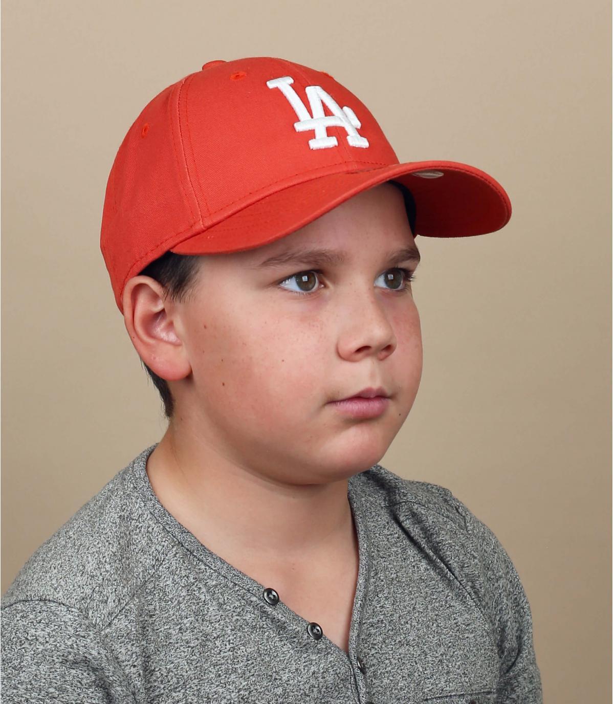 cappellino per bambini LA rosso