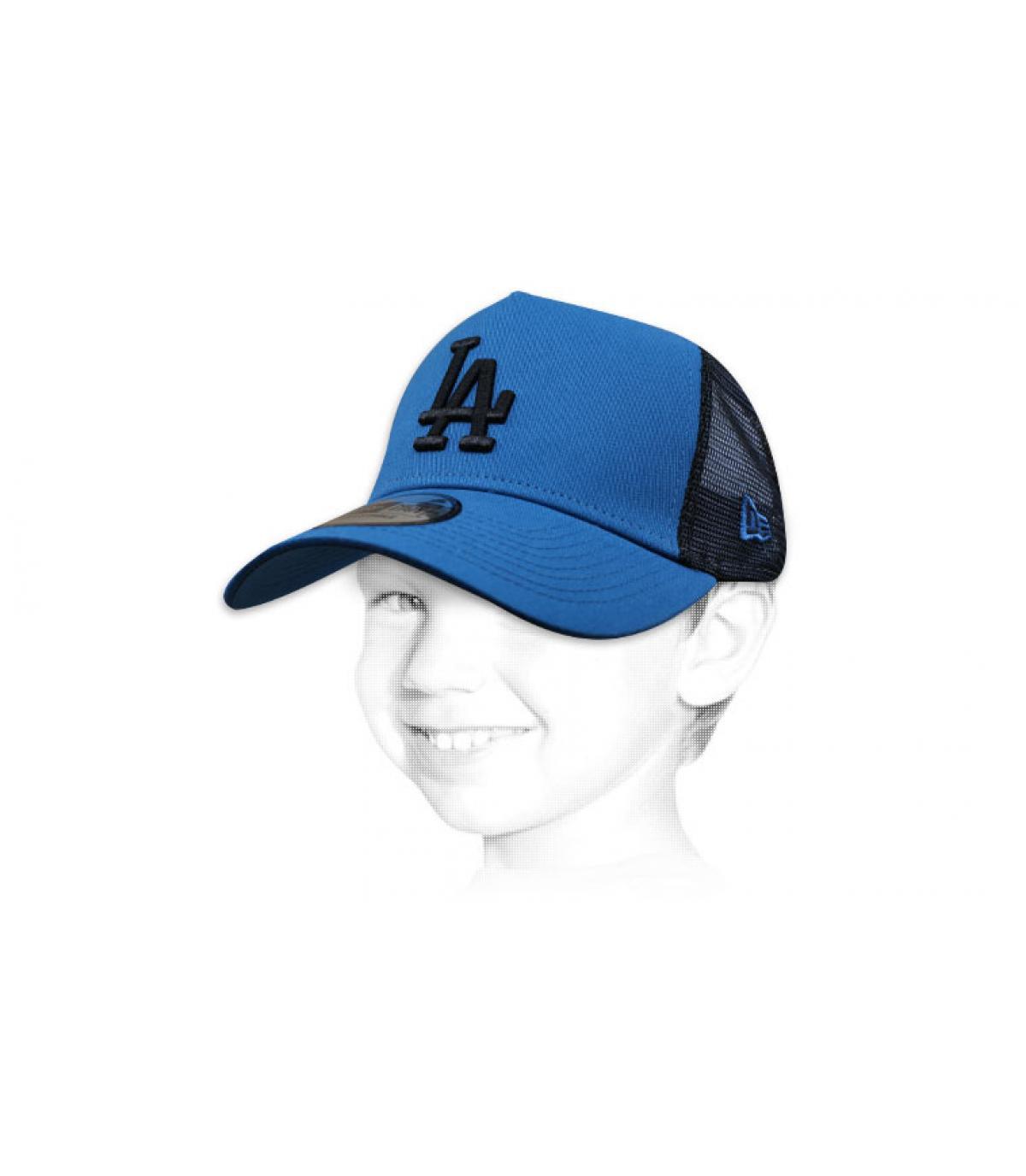 trucker bambino blu LA