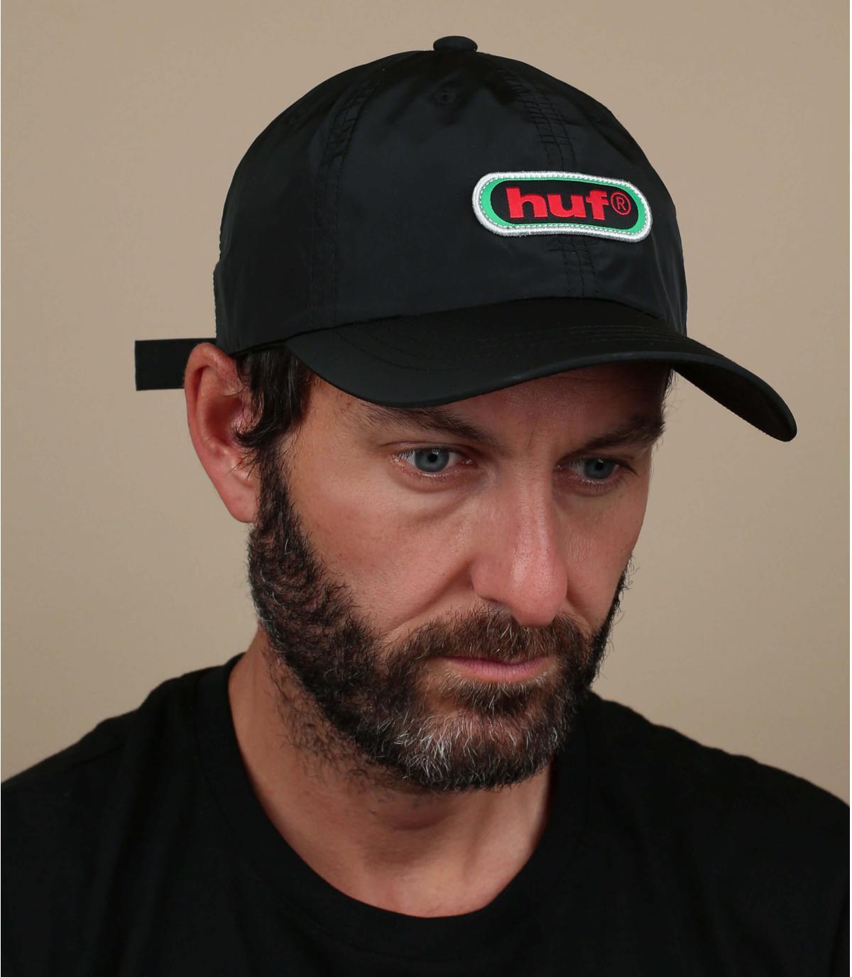 Cappellino Huf nero retrò