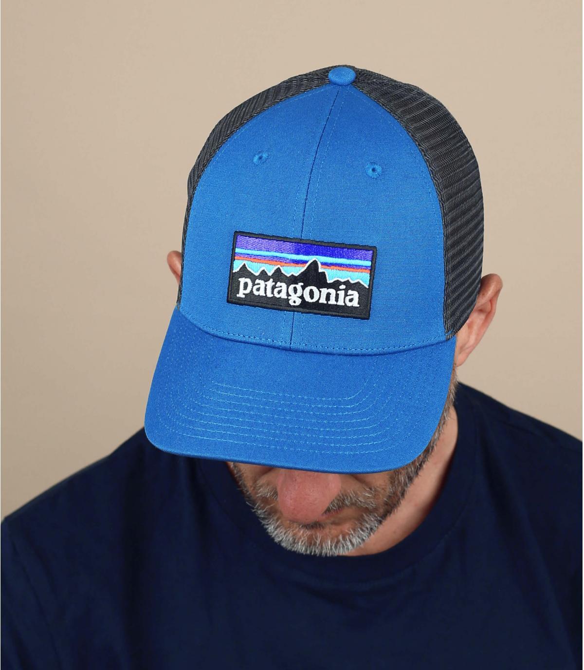 camionista blu Patagonia