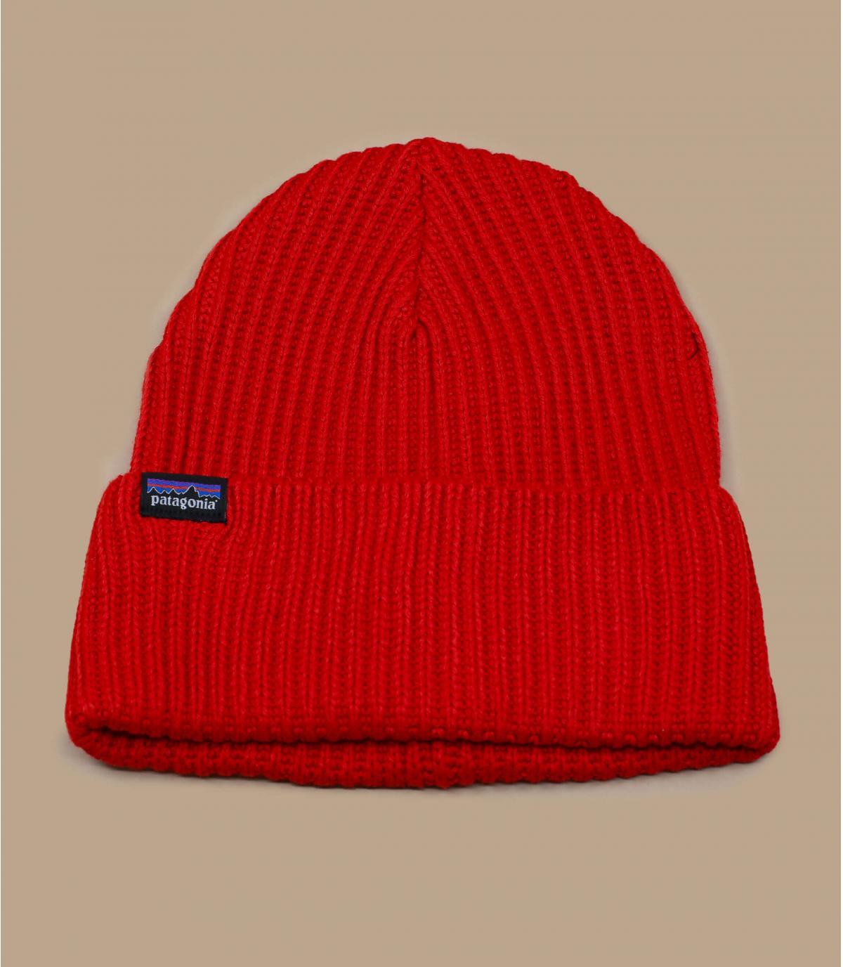 Cappello a cuffia rosso patagonia